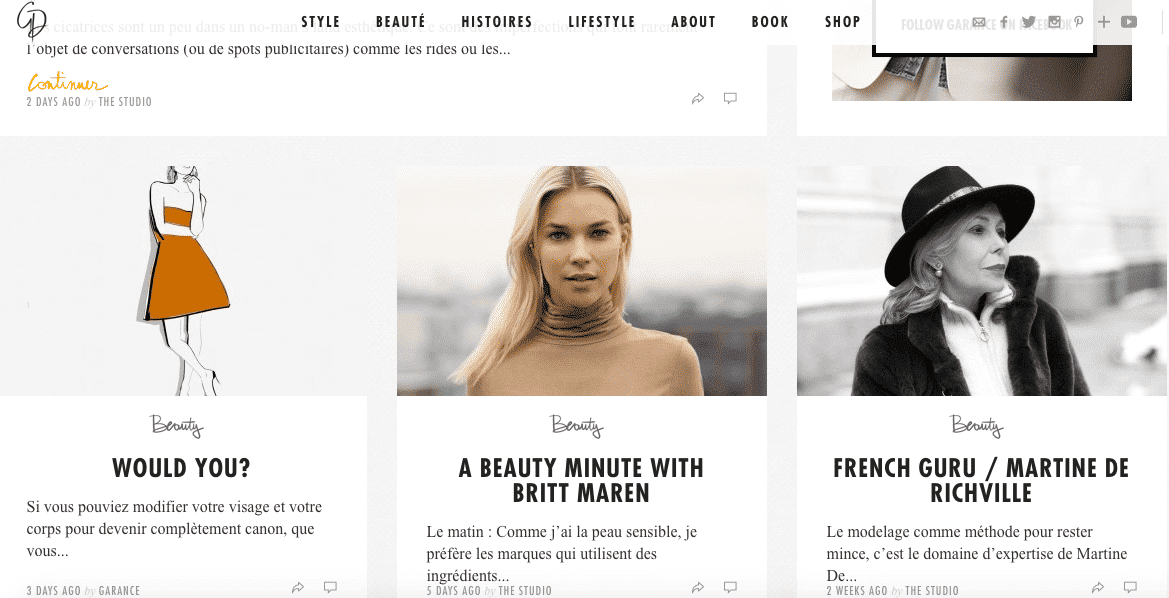 marketing influence blog mode beaute
