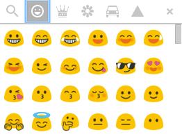 guide design email emoji google