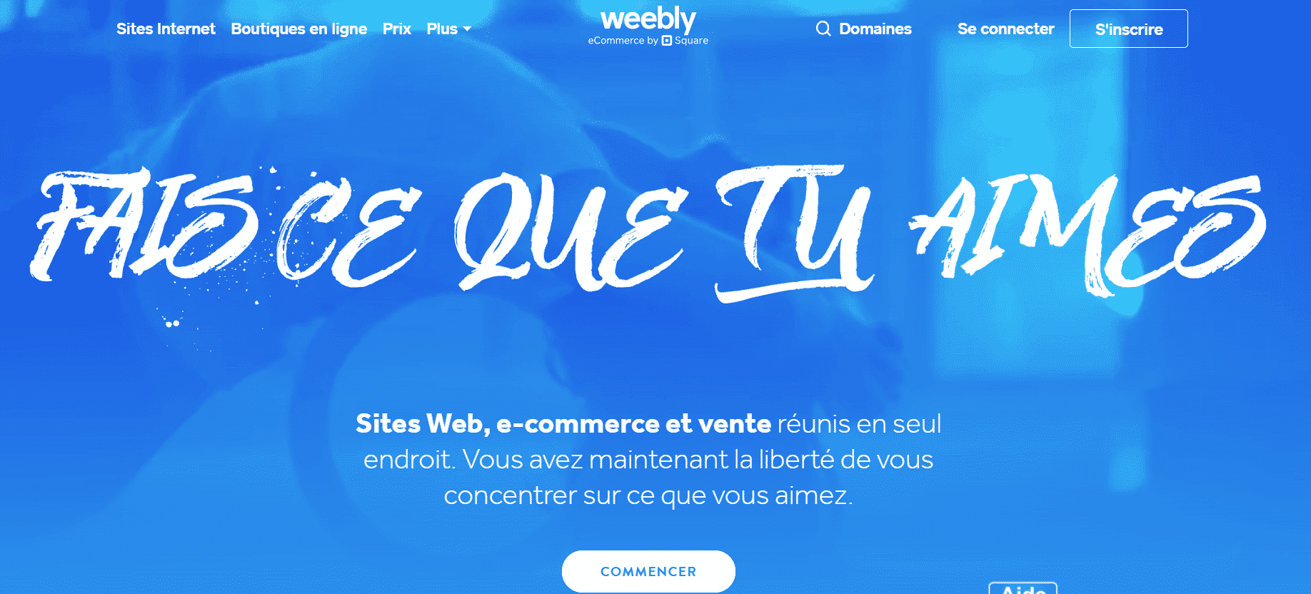 weebly accueil